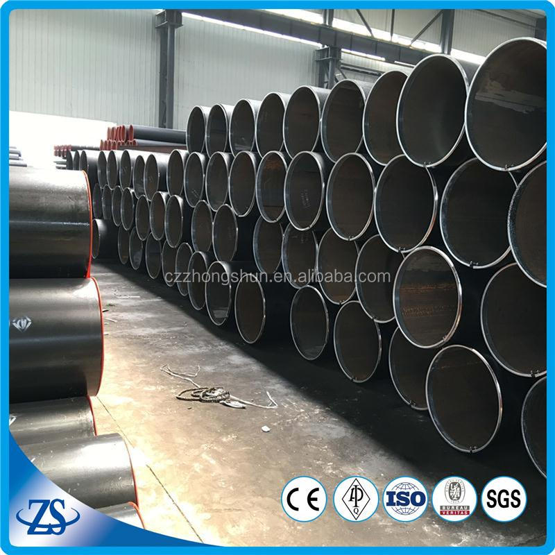 schedule 40 pipes 10 inch dia 1/2 inch thick steel pipe for construction