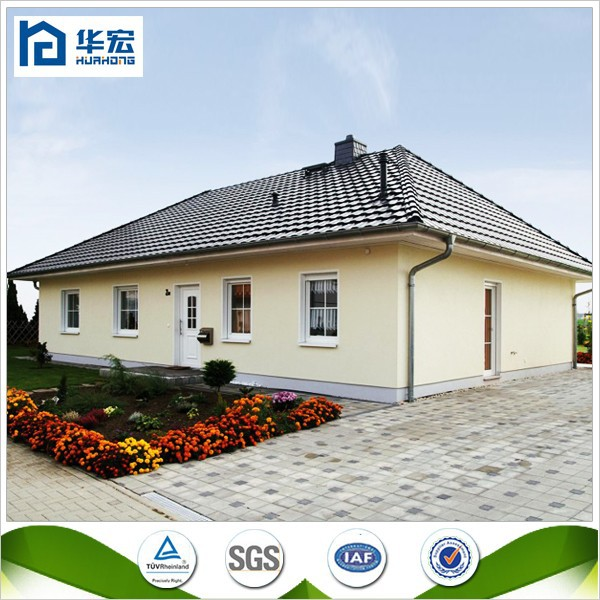 2015 Cheap Low Cost Prefabricated Steel Frame House For Sale