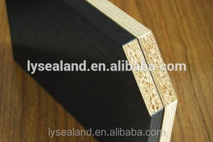 hollow core particle board / chipboard , tubular chipboard for door/particle board price