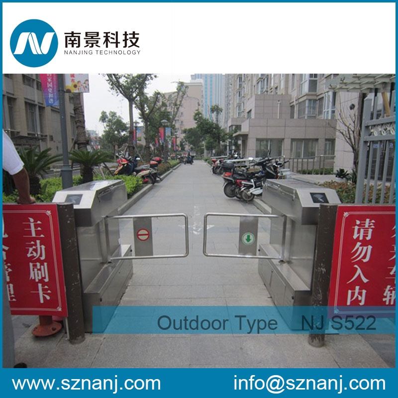 railway stations entrance counter outdoor swing gate automatic swing turnstile