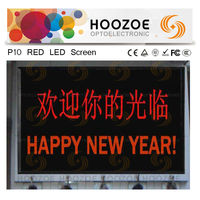 P10 Red Waterproof LED Message Bosrd for Outdoor