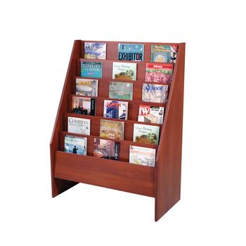 Wooden Comic Book Display Rack