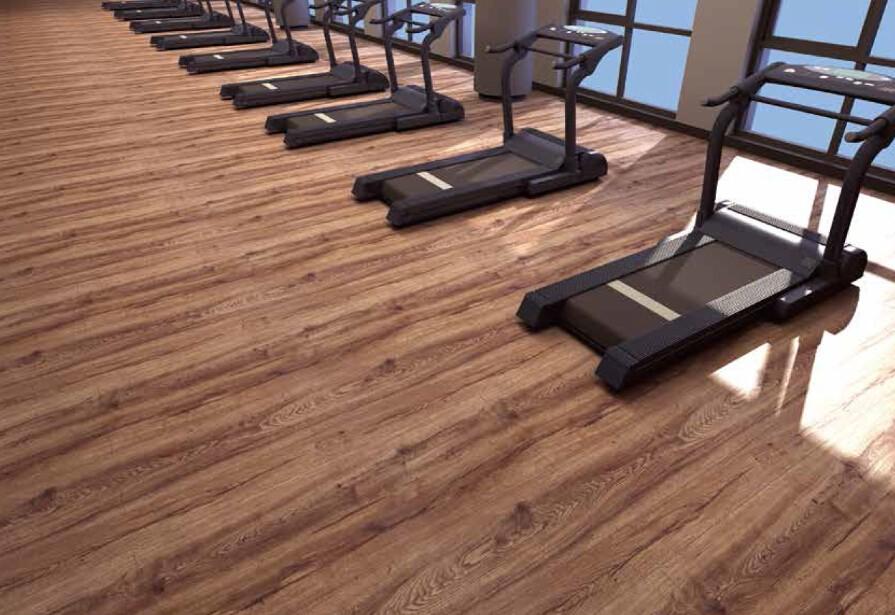 Lijm top kwaliteit pvc vinyl plank vloeren schil en stok vinyl