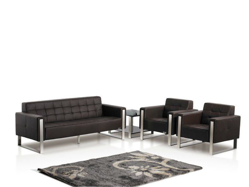 Oshujian Office Sofa Set With Leather Cover Ceo Commercial Office