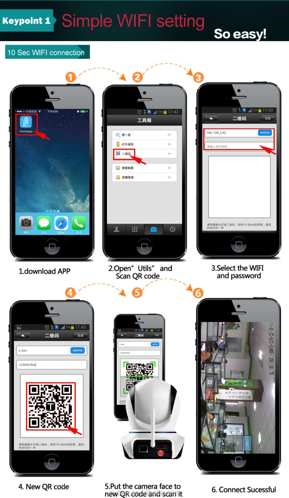 Hd Smart Home Wifi Ip Camera - Buy Low Cost Wifi Ip Camera Product on  Alibaba com