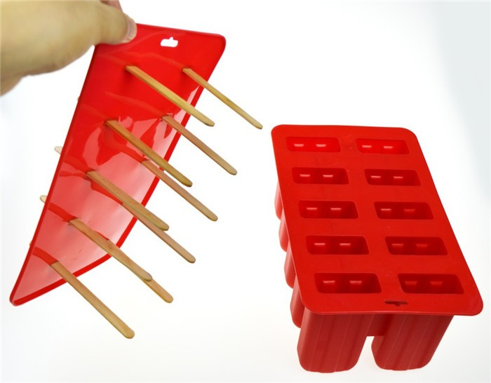 Di vendita superiore BPA Libero Silicone Popsicle Ice Pop Stampi, Riutilizzabile in silicone popsicle stampi ice pop maker