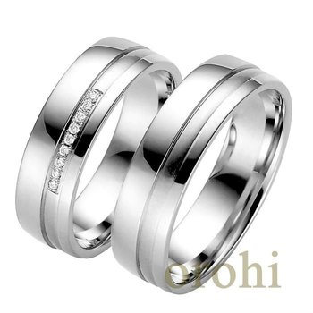 hg243 w simple wedding bands design for couples pt950 diamond wedding ring