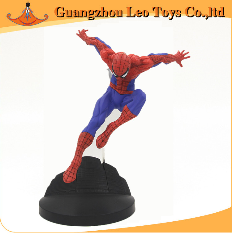 Hot toys Marvel Superheros Spider man anime action PVC figure