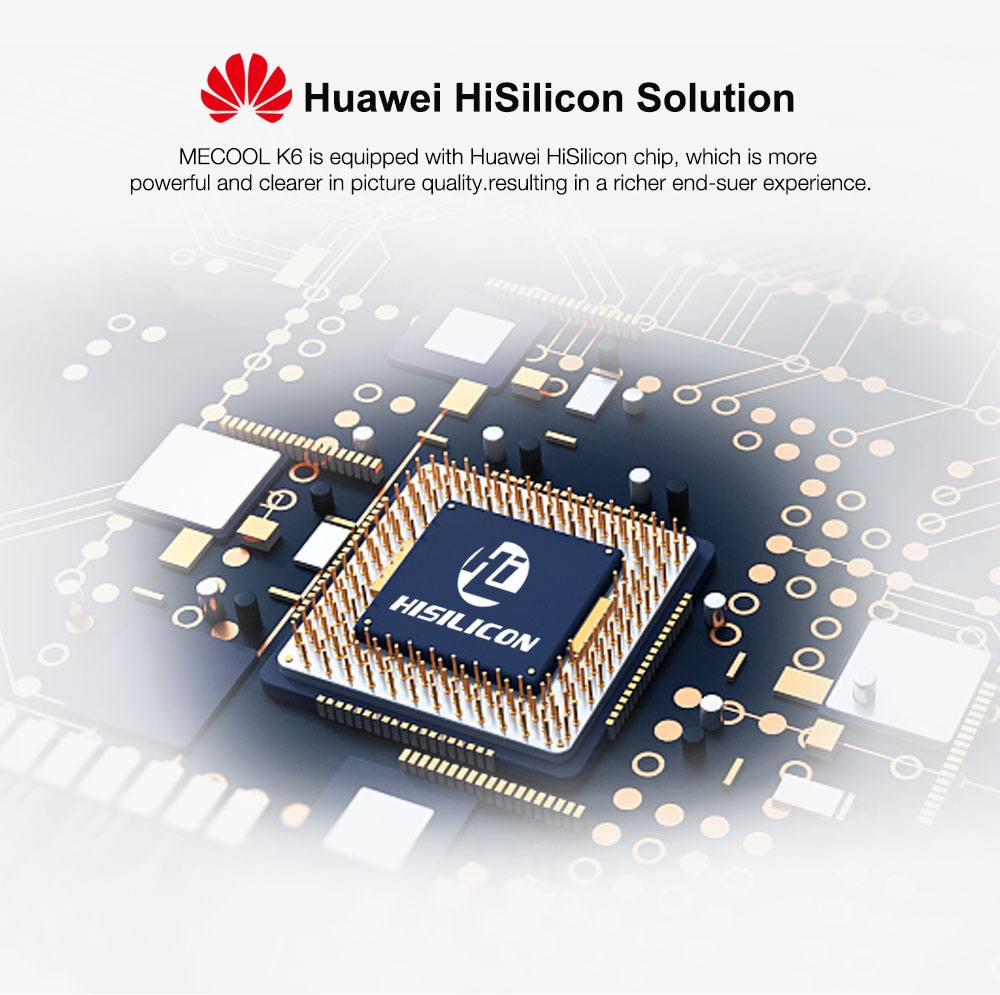 2019 האחרון STB + אנדרואיד OTT K6 עם Huawei HiSilicon HI3798MV200H Quad-core מעבד 2 GB + 16 GB 2.4G & 5G WiFi תמיכת CAS חריץ