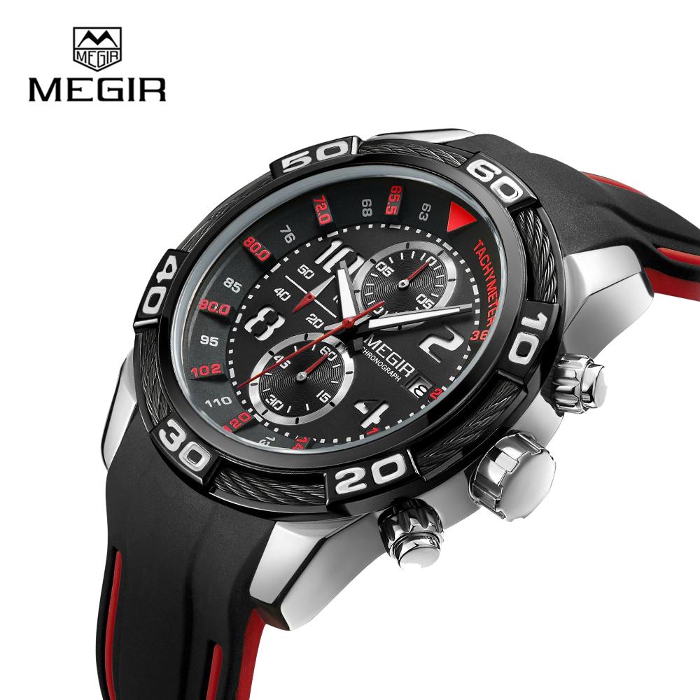 Megir 2045 High Quality Fashion Luxury Watch OEM Private Label Watch