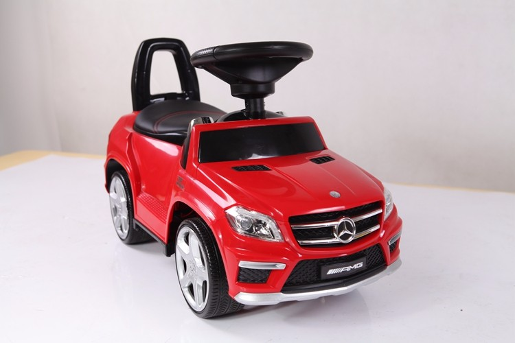 Mercedes Benz License Kids Toy Car Mini Non Electric Vehicle With Push Bar