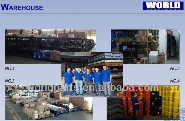Changlin 967H 휠 로더 예비 부품 P257-G80367ZCA6 W-01-00090 기어 오일 펌프