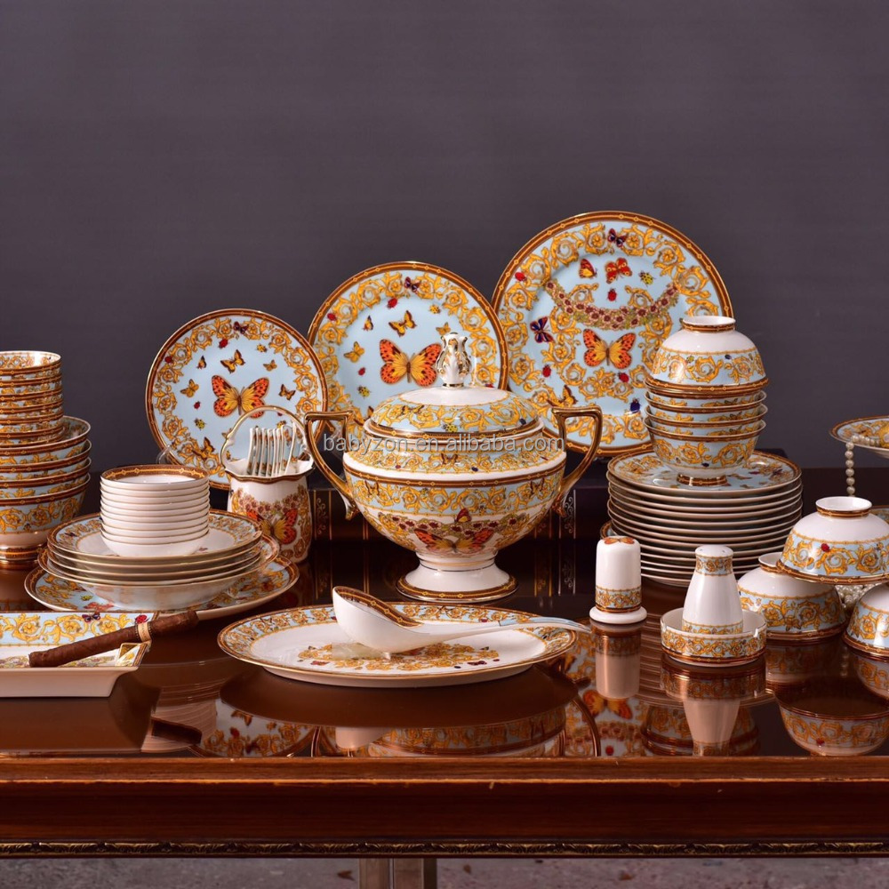High Quality Bone China Dinner Ware In-Glaze Table Ware dinnerware sets crockery sets