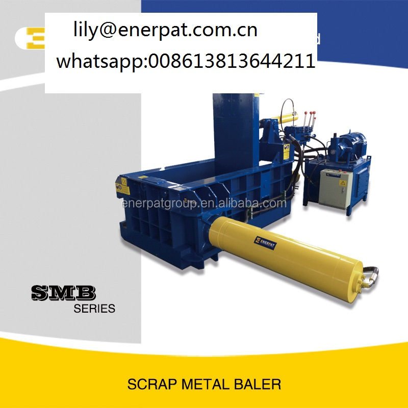 New Products Hydraulic Metal Baler And Aluminum Can Baler For Tin Can Bales Business And Used Scrap Metal Balers