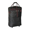 32 Inch Expandable Duffel Bag With Wheels Rolling Duffle Wheeled Travel Gym Blac