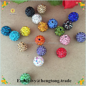 wholesale jewelry accessories DIY shamba beads, mixed colors shamba beads for religous catholic rosary necklace