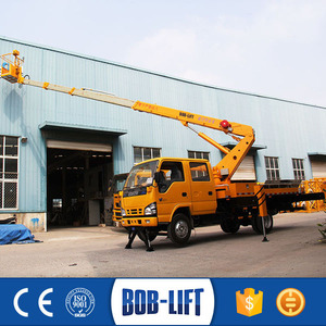 Aerial Work Platform Electric Lift Telescopic Ladder