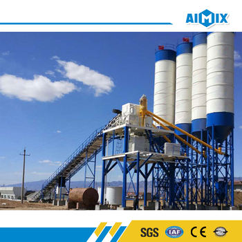 Best service 90m3 ready mixed concrete batching plant for sale