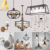 Hot sales iron metal vintage industrial home goods pendant lamp