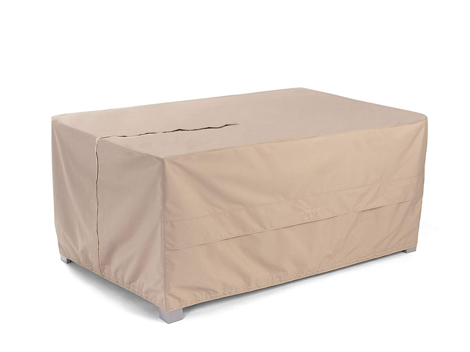 CoverMates – Rectangular Bar Table Cover – 72W x 42D x 35H – Ultima Collection – 7 YR Warranty – Year Around Protection- Tan
