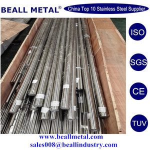 Stainless Steel Grinding Bar 201, 202, 301, 304, 304L, 310S, 316, 316L, 410, 430, etc. DIA3mm - 80mm (Tolerance: +/-0.02mm)