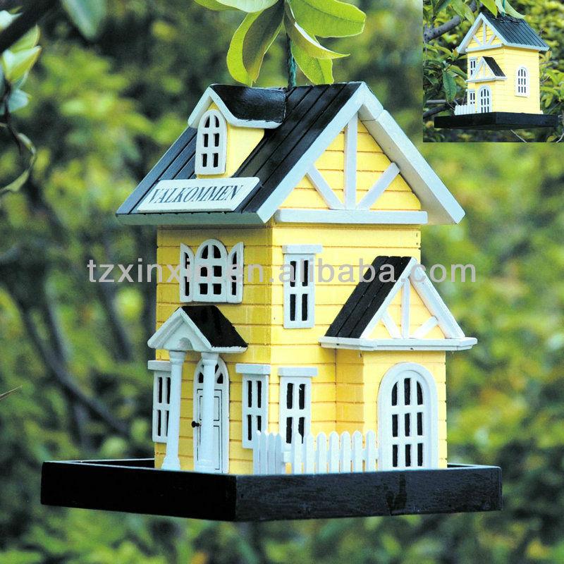 maisons d 39 oiseaux en bois petites maisons d 39 oiseaux en. Black Bedroom Furniture Sets. Home Design Ideas