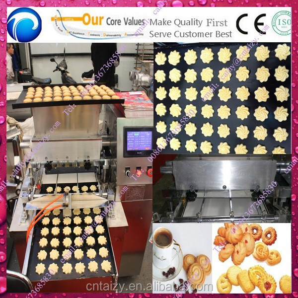 PLC control easy using cookie cutting machine