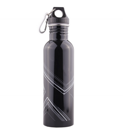 fit different caps wide mouth stainless steel water bottle sport canteen
