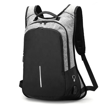 China anti-theft backpack charging anti theft back pack