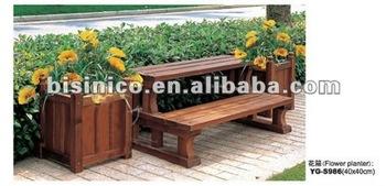 Gartenim Freien Pflanzer Holz Blumenkasten Balkon Holz Blume
