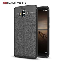New products shocckproof leather design soft tpu mobile phone cover case for Huawei Mate 10