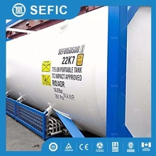 MSDS gas supplied 20ft 40ft tank container