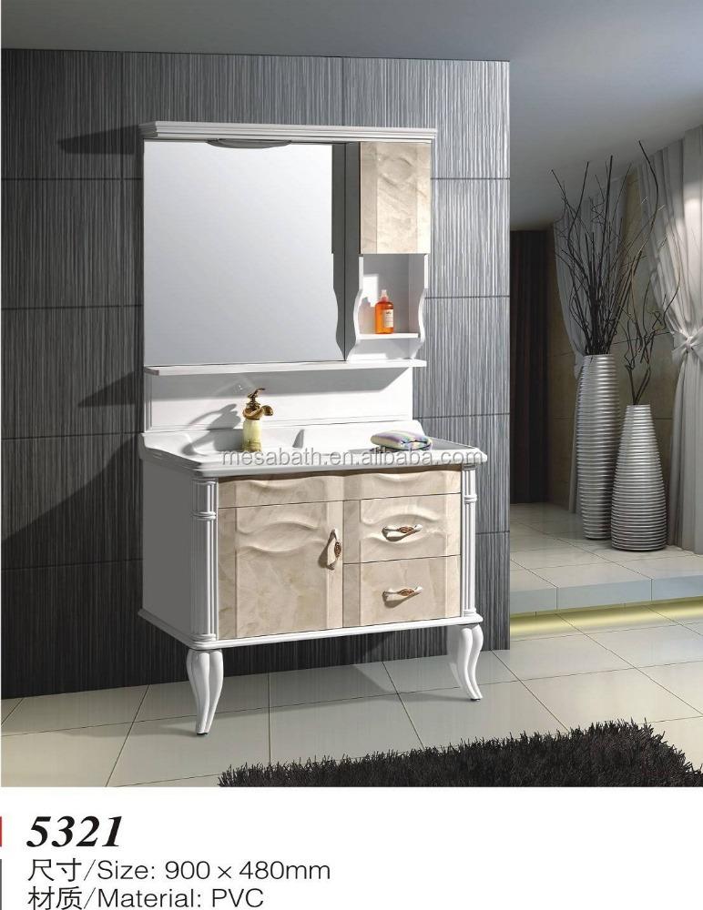 Bathroom Washbasin Pvc Cabinet, Bathroom Washbasin Pvc Cabinet ...