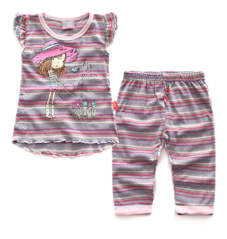 wholesale baby kids comfort clothing cotton breathable pyjamas