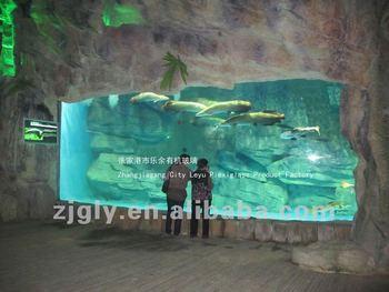 Custom Ornamental Large Acrylic Fish Tank