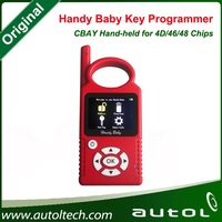 Wholesale 2016 NEW Car key copy programmer, Handy Baby car detector tool CBAY Hand held can copy 4D ID46 ID48 Chips