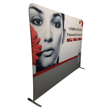 Personalizado Tension Tecido Trade Show Banner Parede Pop UP Display Estande Cenário