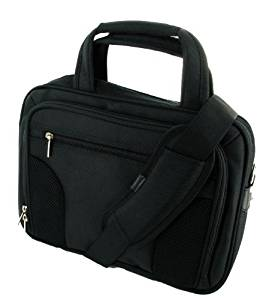 Deluxe Carrying Bag Color: Black, Laptop Size: 10.1""