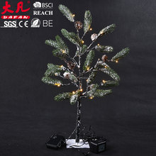 Outdoor merry christmas tree decoration color changing waterproof decorative solar light led string