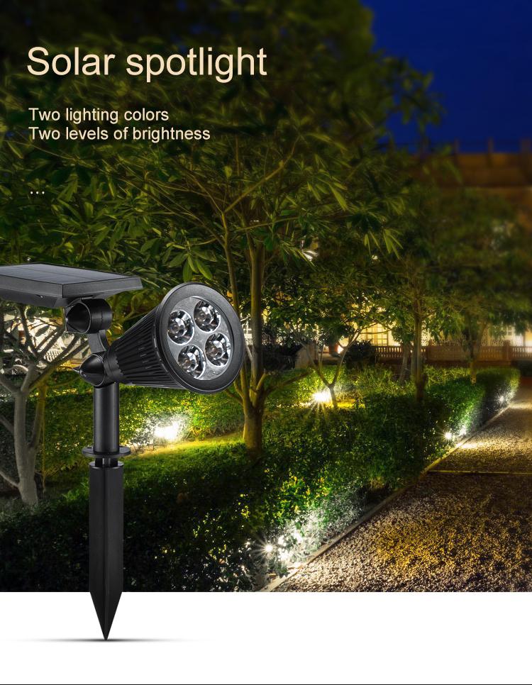 Solar Garden Lamp Led Ed Strip Flood Light Lights Lighting Outdoor For Crafts