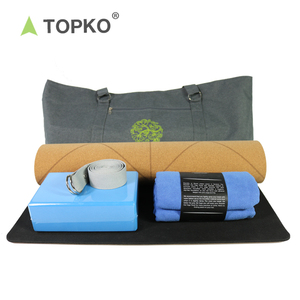 TOPKO Hot selling High quality Yoga sets Large Volume Polyester Yoga products Carry Bag