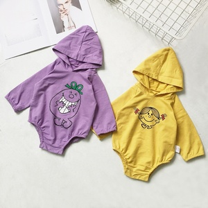 Factory custom spring autumn fashion newborn baby clothing wholesale cotton clothes infants rompers set 2231