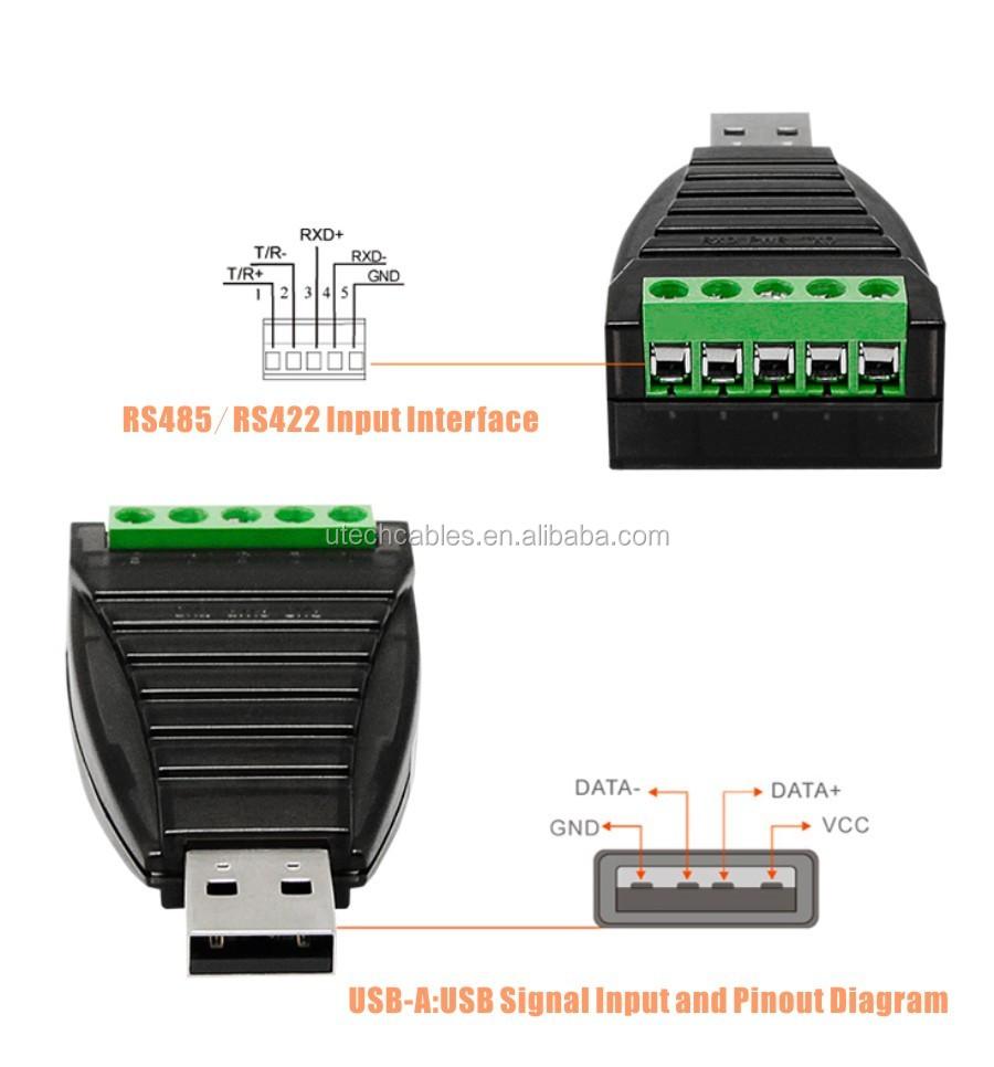 Ftdi Chipset Usb To Rs485 Rs422 Convertermini Pro Buy Wiring Diagram Converter Mini