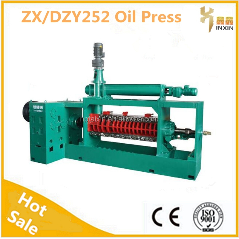 XINXIN High Full Use Resource Groundnut Electric Spiral Oill Mill Oil Expeller/Oil Mill/Oil Press With Motor For Export