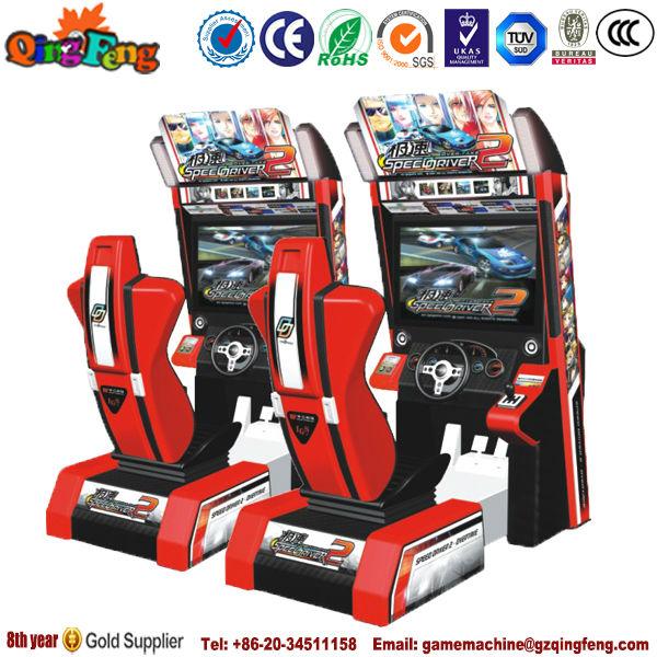 Qingfeng Driving Simulator Coins Arcade Games Car Race Game ...