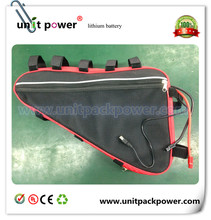 Best quality triangle bag ebike battery 48v 17ah scooter battery