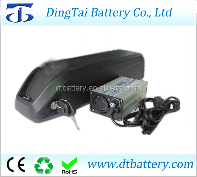 For electric mountain bike cheap price 48v 12ah hailong down tube electric bike lithium <strong>battery</strong> with charger