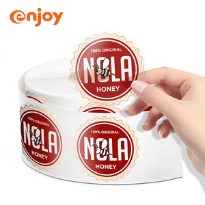 transparent adhesive product custom self adhesive roll black label price cheap sticker labels