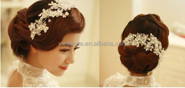 2017 Fashion Indian Wedding Hair Accessories Bridal Tiara Whole Am Wt02