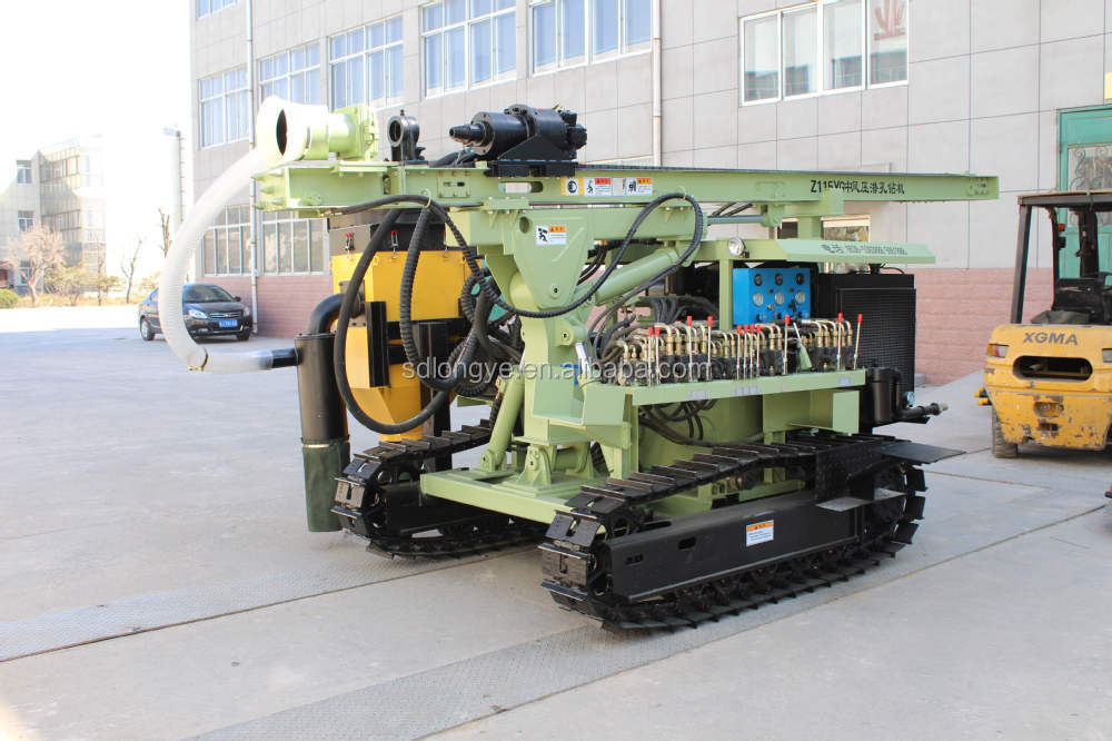 Z115Y multi-function DTH drill rig of for mine blasting